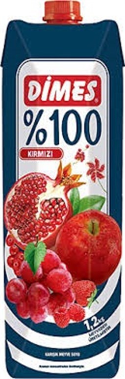 100% Fruitmix Juice  Red Fruits - 1 lt