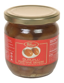 Candied Chestnut In Syrup - 500 gr