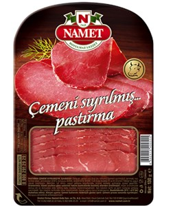 Sliced Beef Pastrami Without Fenugreek - 130 gr
