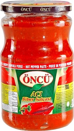 Oncu Pepper Paste Hot - 700 gr
