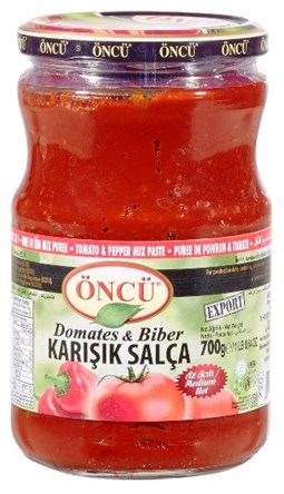 Oncu Tomato and Pepper Mixed Paste  - 700 gr