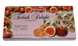 Turkish Delight with Fig and Walnut - 500 gr