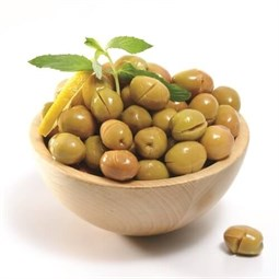 Cracked Green Olives - 600 Gr
