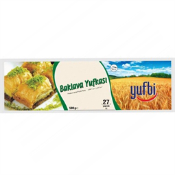 Phyllo Pastry for Baklava - 1000 gr ( 50 Pieces )