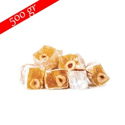 Sahsultan Turkish Delight with Hazelnut- 500 gr