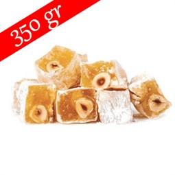 Sahsultan Turkish Delight with Hazelnut- 350 gr