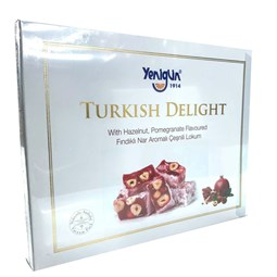 Turkish Delight with Pomegranate and Hazelnut - 454 gr